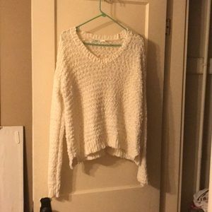 White soft and comfy sweater